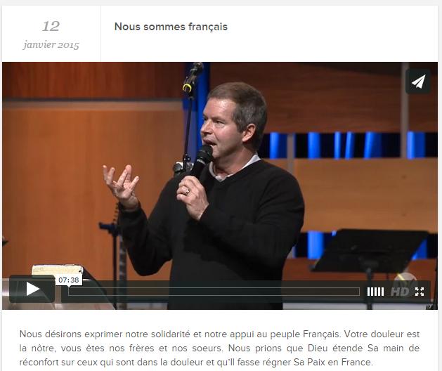 Nous sommes français - Pasteur Claude HOUDE