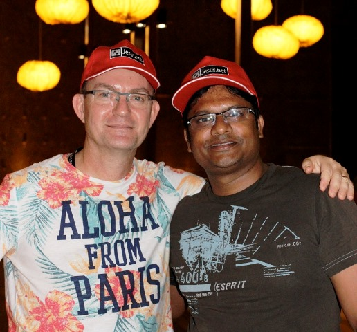 Mon ami Vijay ! Great man !